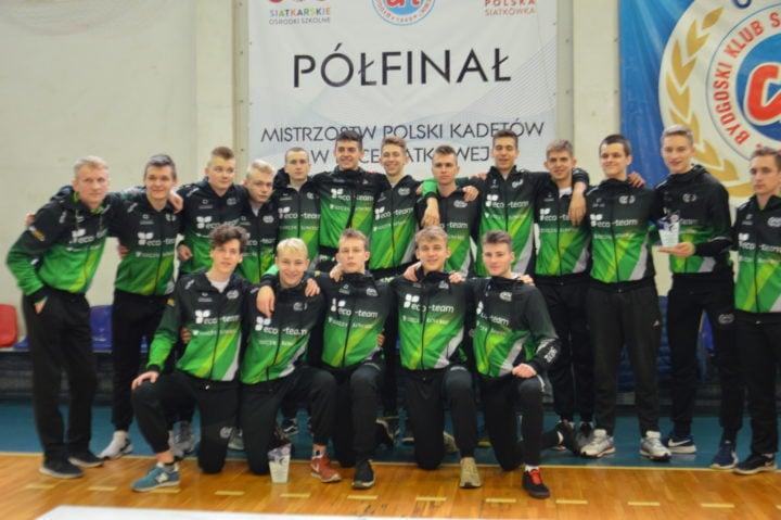 Awans kadetów AZS-u 2020 do turnieju finałowego Mistrzostw Polski 2