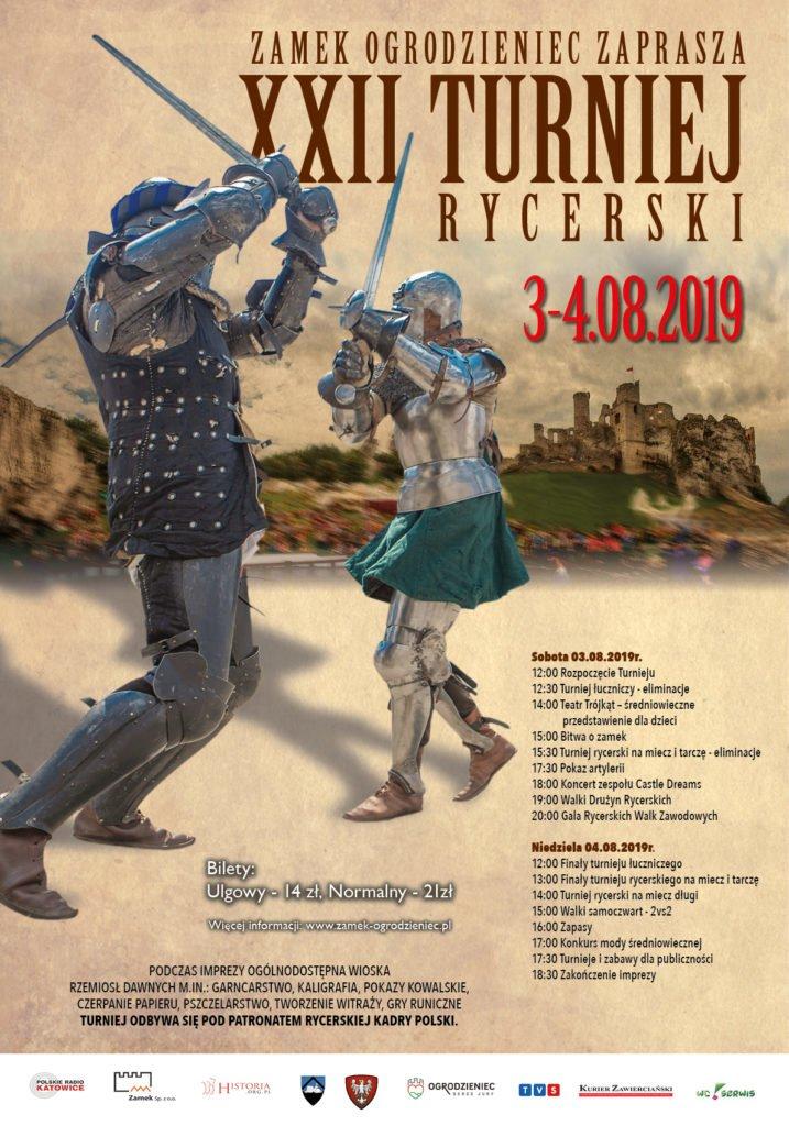 XXII Międzynarodowy Turniej Rycerski w Ogrodzieńcu [PROGRAM] 1