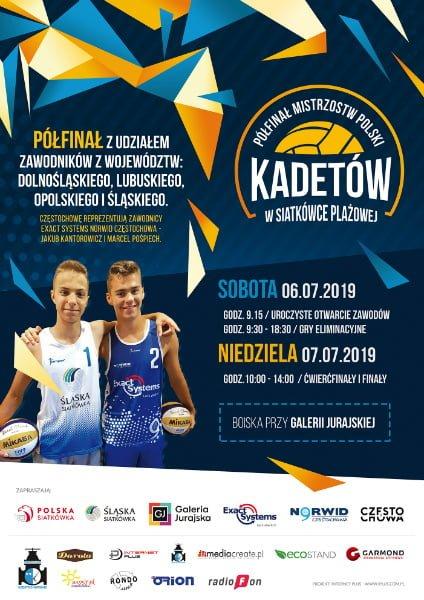 Częstochowa. Mistrzostwa Polski w Siatkówce Plażowej 1