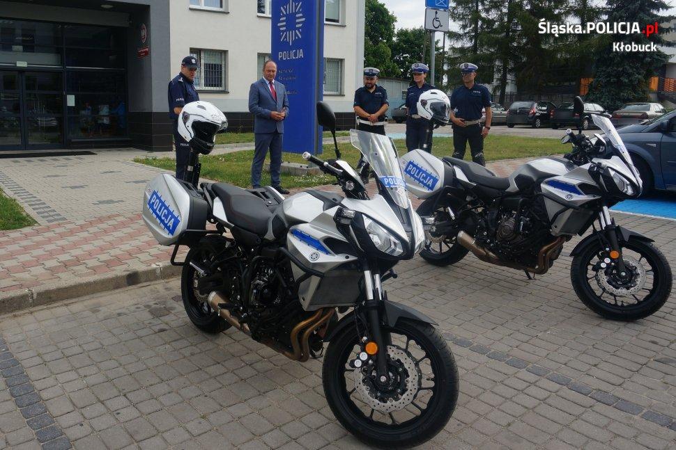 Kłobuck. Policja ma nowe motocykle. 2