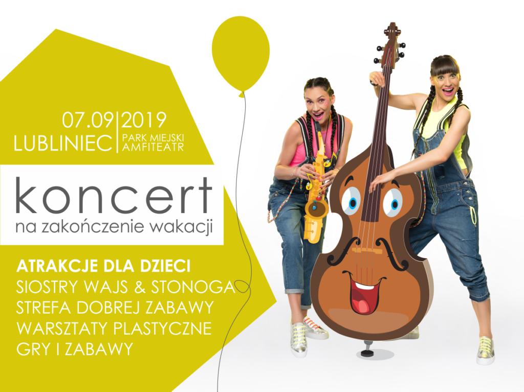 Lubliniec. Koncert na Zakończenie Wakacji coraz bliżej! 1