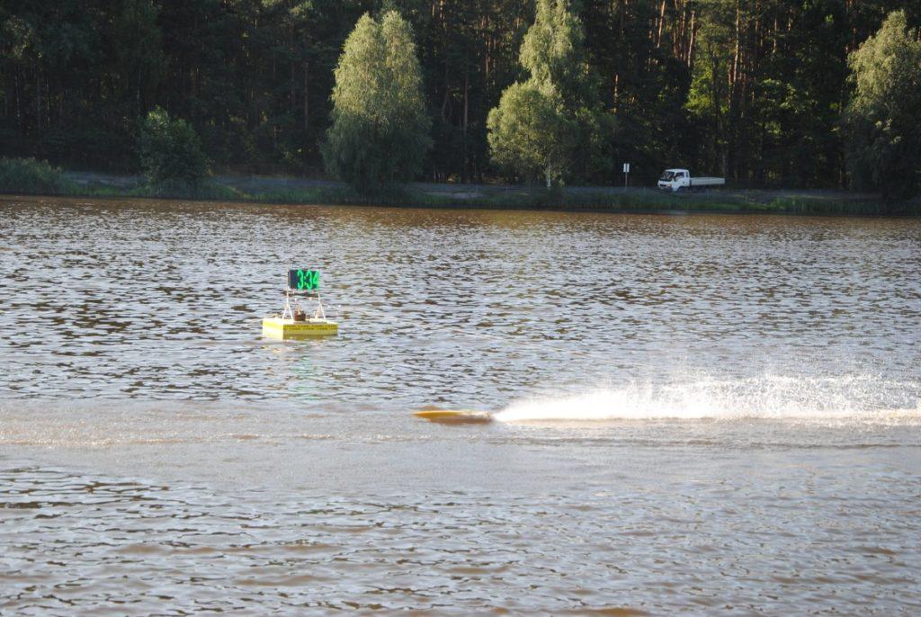 Na Pająku pływają modele 1