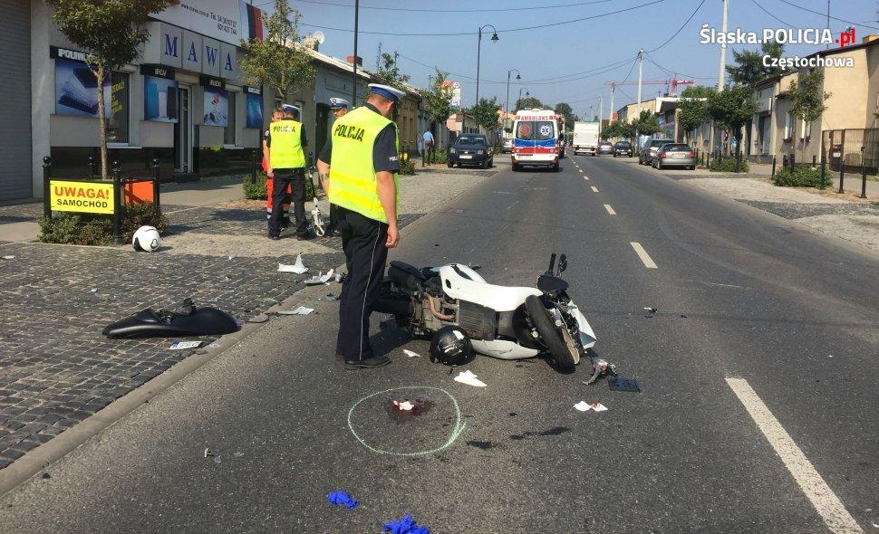 Zginął motocyklista 1