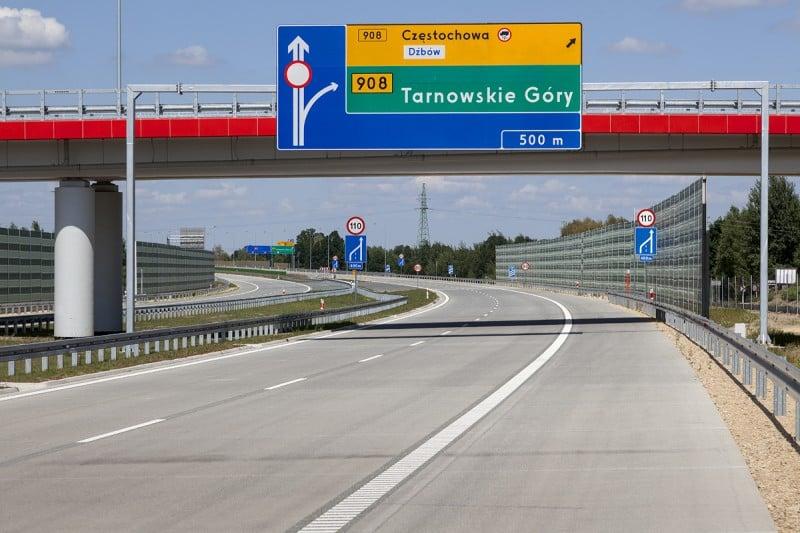 Dziś oficjalne otwarcie fragmentu A1 Częstochowa Południe - Pyrzowice 1