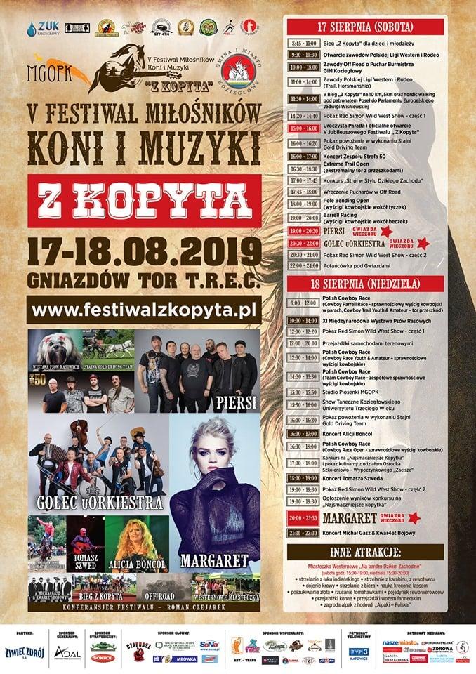"""Od rocka, po country i pop Muzyczne niespodzianki na Festiwalu """"Z Kopyta"""" 1"""