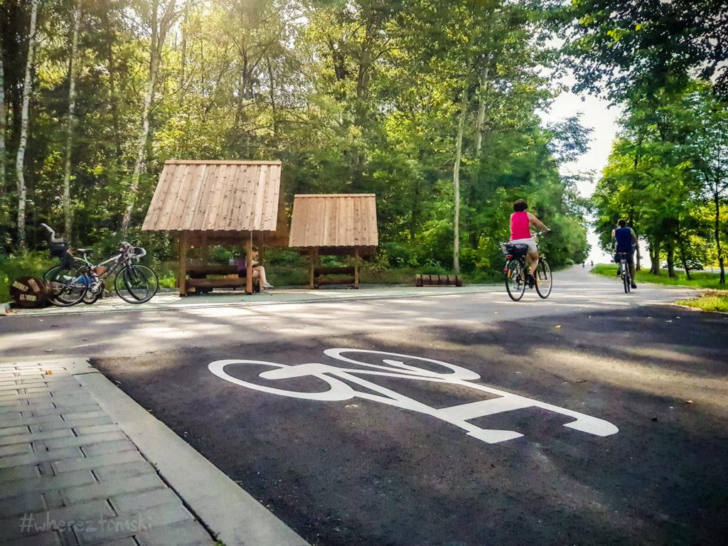 Sposób na weekend, czyli wycieczka rowerowa trasą Odrzykoń-Olsztyn 1
