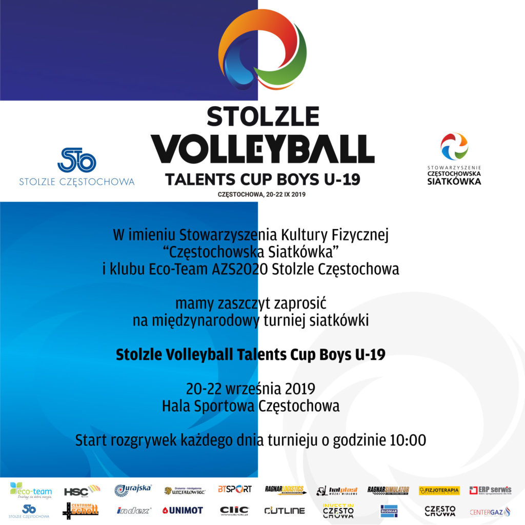 Drugi turniej Stolzle Volleyball Talents Cup 1