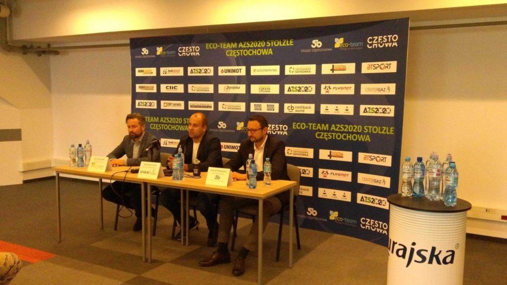 Eco-Team AZS 2020 Częstochowa, przedstawia plany. 2