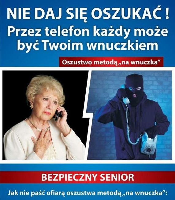 Seniorze, uważaj na oszustów 1