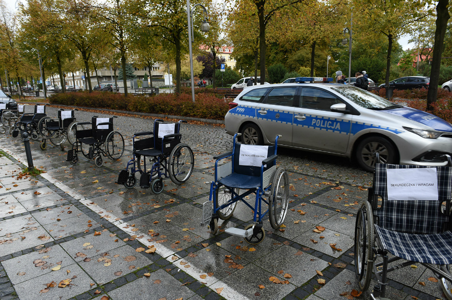 Władze miasta w obronie niepełnosprawnych 1