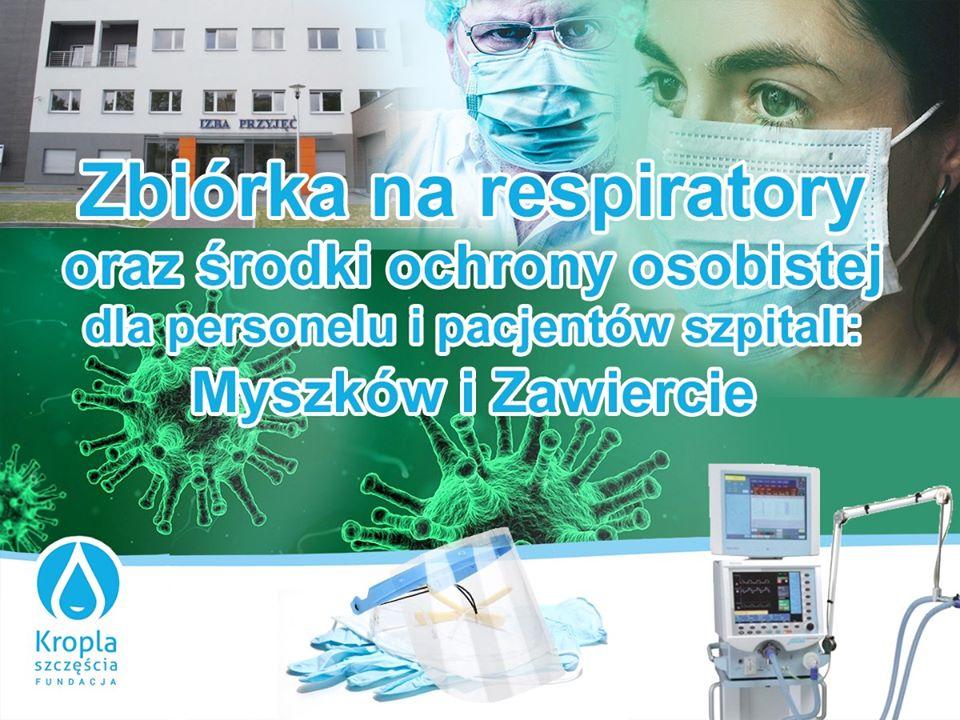 Fundacja chce kupić respiratory dla szpitala 1