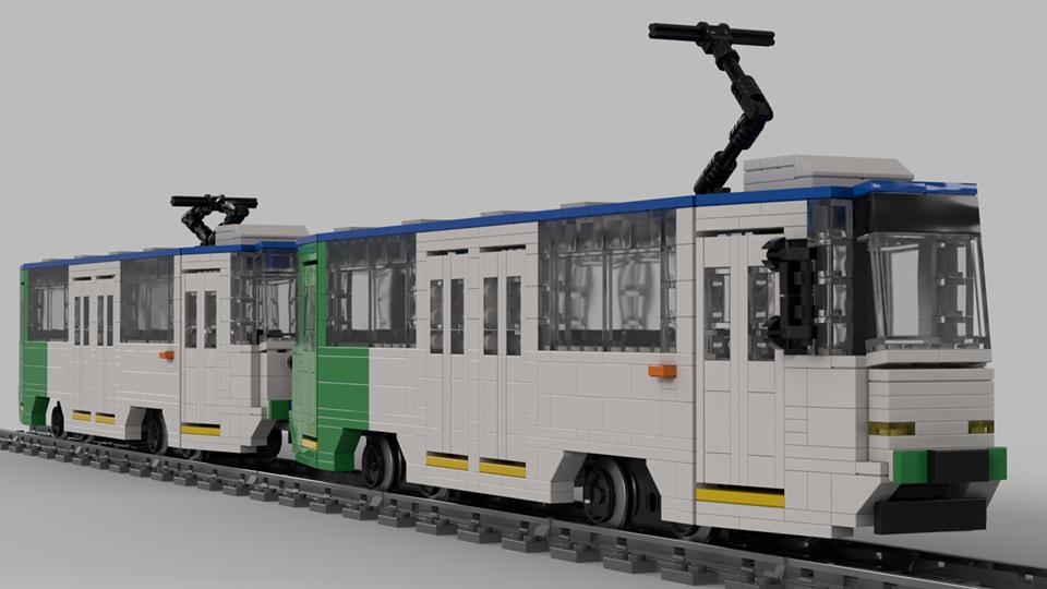 Częstochowski tramwaj w zestawach LEGO? 2
