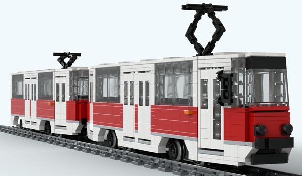Częstochowski tramwaj w zestawach LEGO? 1