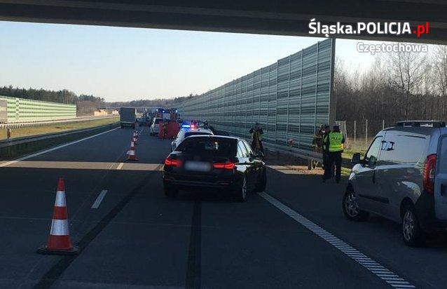 Tragedia na autostradzie 1