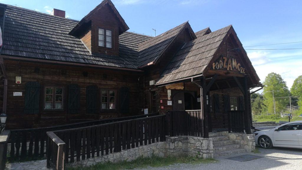 Restauracja Podzamcze w Rabsztynie