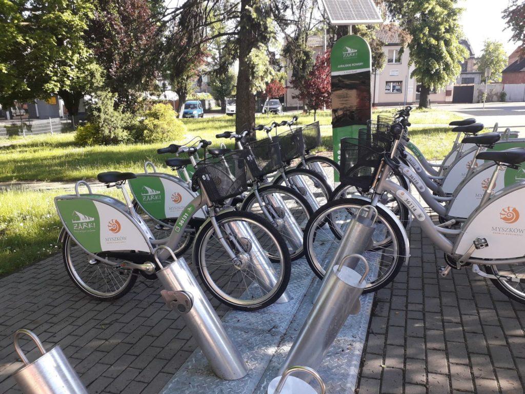 Ruszył system rowerów miejskich 1