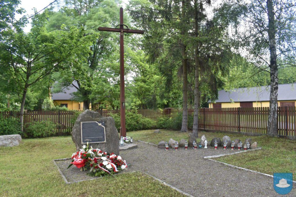 Uczcili 76 rocznicę zamordowanych Polaków. 1