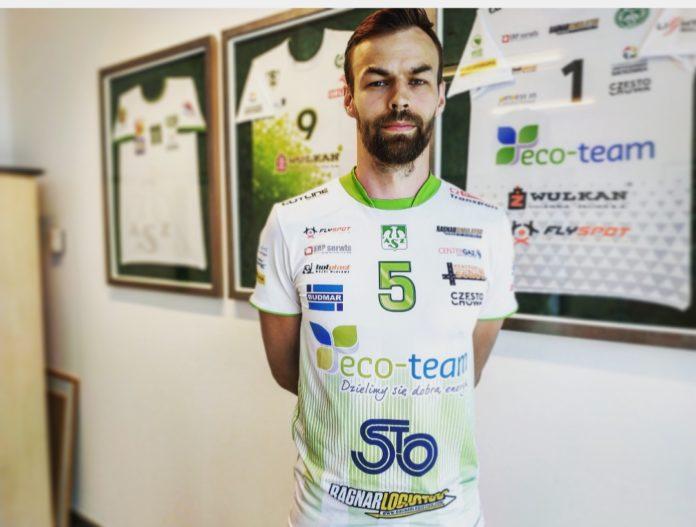 Eco-Team AZS Stoelzle Częstochowa ma nowego zawodnika 2