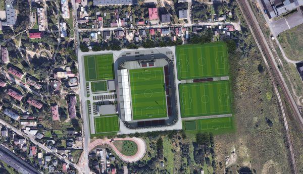 Przetarg na przebudowę Miejskiego Stadionu Piłkarskiego Raków rozstrzygnięty! Prace mają trwać 8 miesięcy od momentu podpisania umowy 2