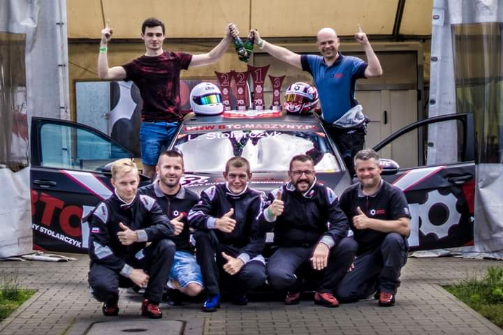 Udany start zespołu BTC Maszyny Racing Radomsko w 1. i 2. rundzie WSMP 1