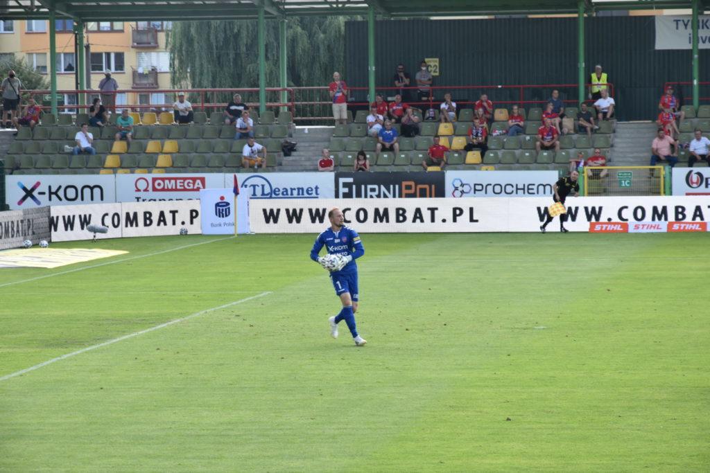 Raków Częstochowa po zakończeniu sezonu żegna się z bramkarzem Michałem Gliwą. Reprezentował Raków przez 2 sezony 1
