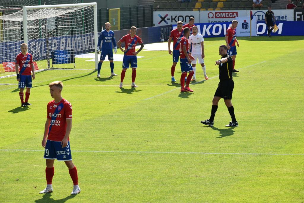 17-letni wychowanek Rakowa Częstochowa zadebiutował w Ekstraklasie 3