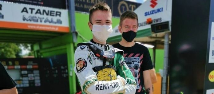 Franciszek Karczewski z Bocar Włókniarz Częstochowa wygrał w Lesznie w klasie 250cc 2