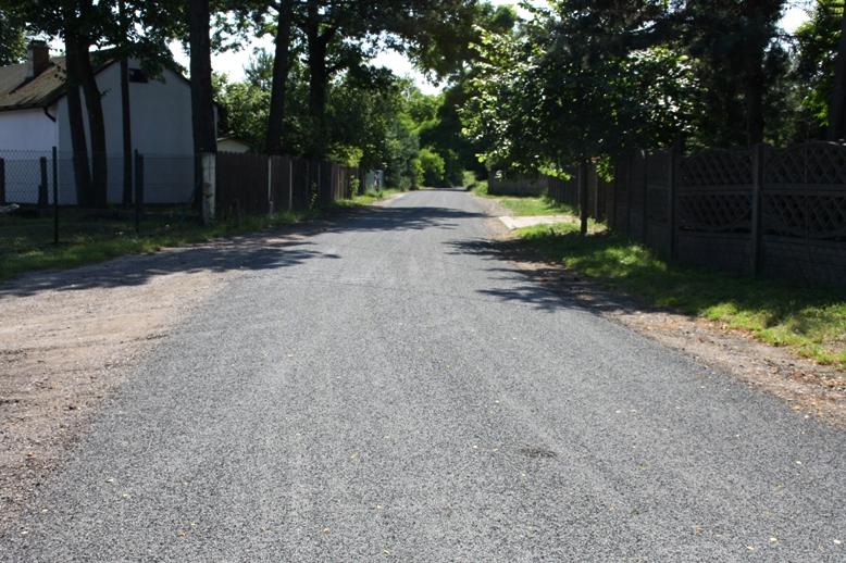 Kolejne wyremontowane drogi w Myszkowie nową technologią 1