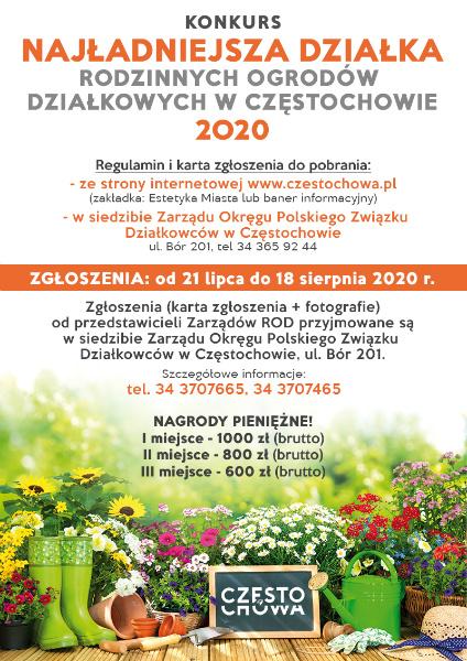 W Częstochowie rusza miejski konkurs na najładniejszą działkę 1