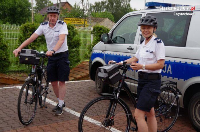 Pojechali, aby pomóc rannym rowerzystkom 2