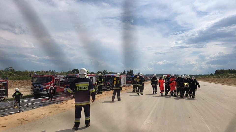 Tragiczny wypadek w Bogusławicach na DK 1 3