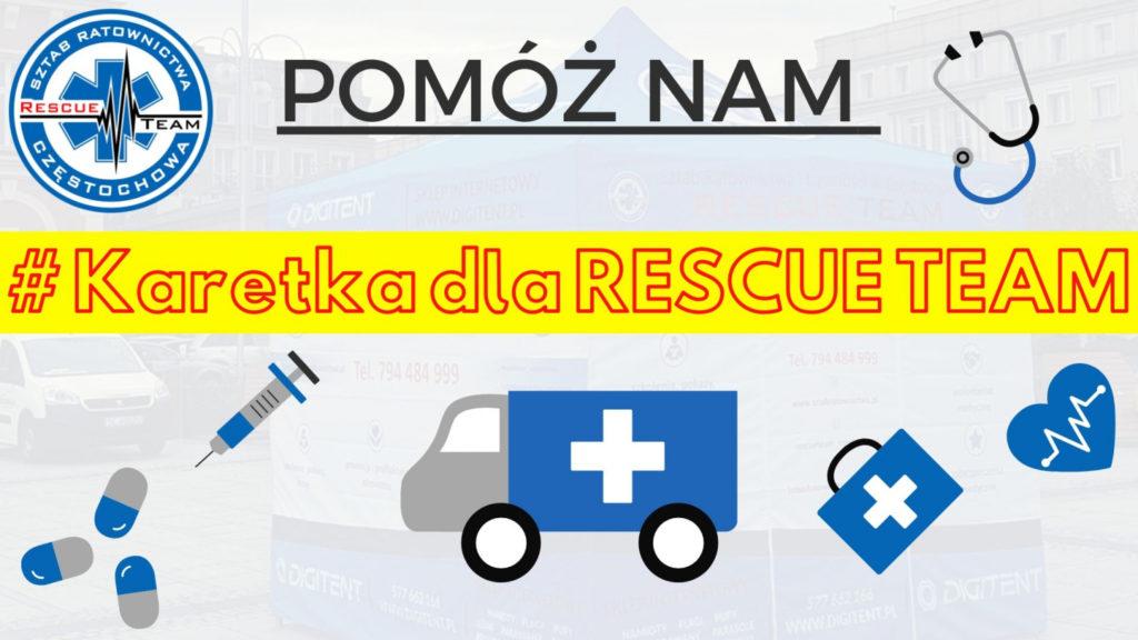 """Karetka dla RESCUE TEAM"" - zrzutka.pl 1"