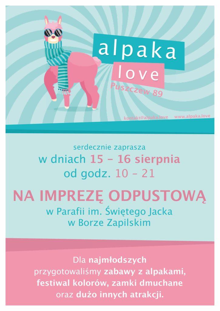 Impreza odpustowa w Alpaka Love 1