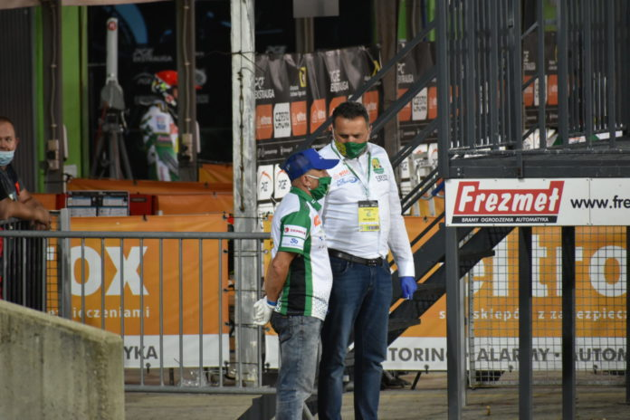 Rune Holta i trener Marek Cieślak przeszli do ROW-u Rybnik 2