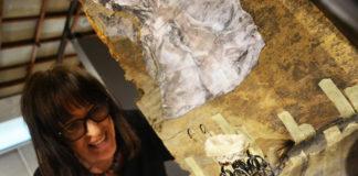 """Wystawa Małgorzaty Komorowskiej """"Między malarstwem a scenografią"""" w Miejskiej Galerii Sztuki w Częstochowie"""