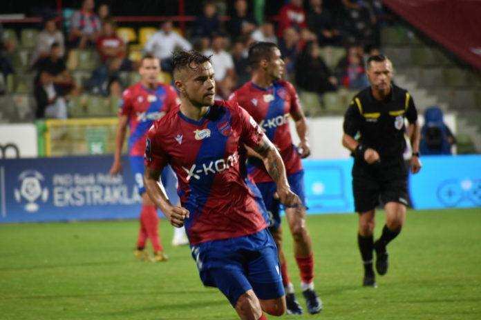 Piłkarze Rakowa Częstochowa w poniedziałek grają z Zagłębiem Lubin 2
