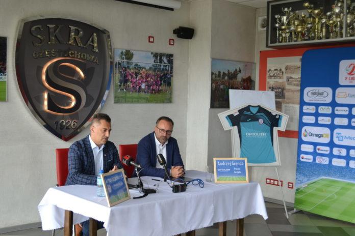 Zainteresował ich znak zapytania na koszulkach Skry. Optolith został sponsorem głównym piłkarzy częstochowskiej Skry 6