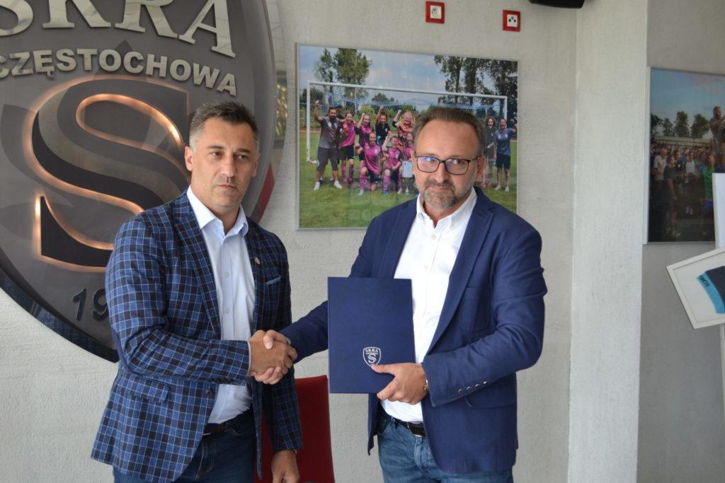 Zainteresował ich znak zapytania na koszulkach Skry. Optolith został sponsorem głównym piłkarzy częstochowskiej Skry 1