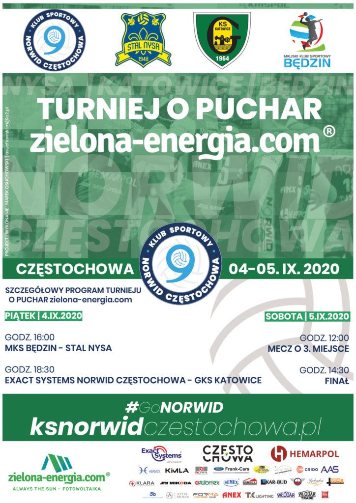 W piątek i w sobotę Exact Systems Norwid Częstochowa organizuje turniej z 3 drużynami z Plus Ligi. Biletów nie będzie można jednak kupić 1
