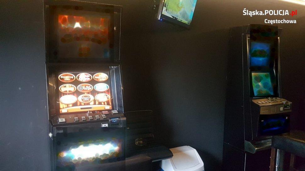 W tym samym miejscu kolejne przejęcie nielegalnych automatów do gier 2