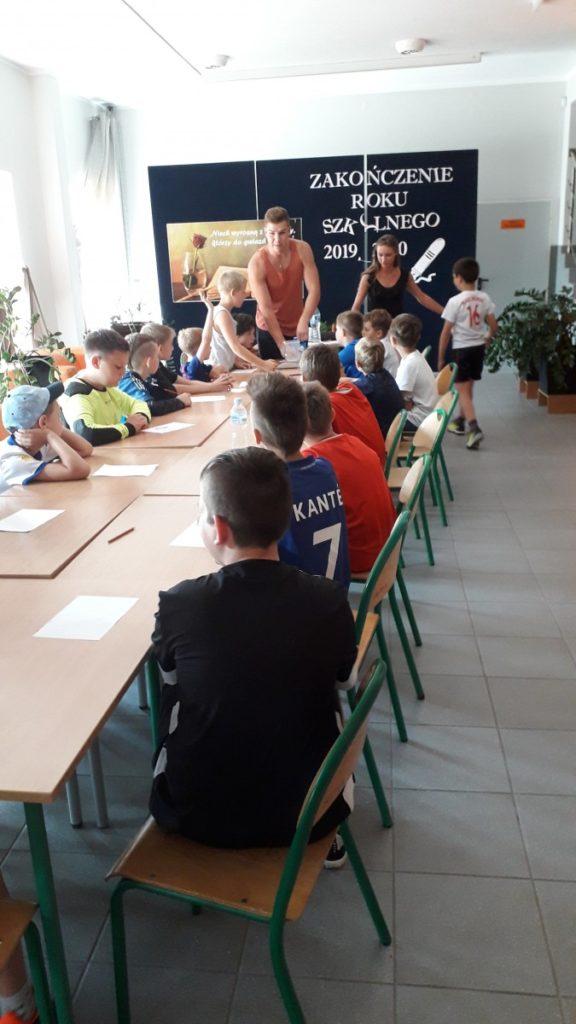 Obóz dochodzeniowy najmłodszych piłkarzy Polonii Poraj 2