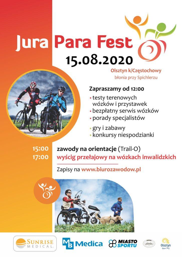 """""""Jura Para Fest 2020"""" już 15 sierpnia w Olsztynie 1"""