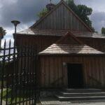 Zrębice. Drewniany kościół pw. św. Idziego