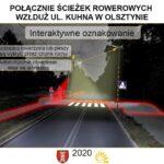 Interaktywne przejście dla pieszych w Olsztynie 1