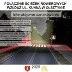 Interaktywne przejście dla pieszych w Olsztynie 2