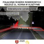 Interaktywne przejście dla pieszych w Olsztynie 3