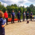 """Policja apeluje o rozwagę nad wodą i nagłaśnia kampanię """"MISIE I DZIECI TONĄ PO CICHU"""" 3"""