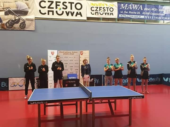 Tenisistki stołowe Bebetto AZS UJD zakończyły zwycięstwem pierwszą rundę w ekstraklasie! 1