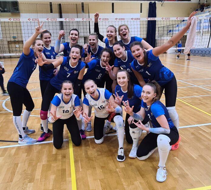 Siatkarki Częstochowianki zakończyły rundę zasadniczą w 1 lidze na 8. miejscu 2
