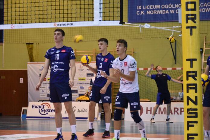 O kolejne zwycięstwo zagrają w sobotę siatkarze Exact Systems Norwida. Są obecnie na 3. miejscu w tabeli 1 ligi! 2